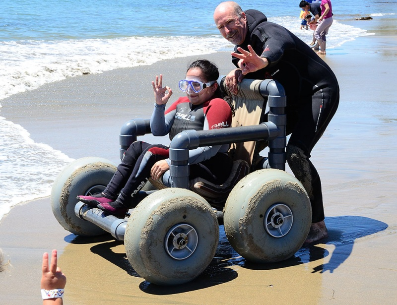 shared adventures beach wheelchair